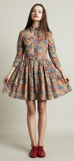 Paint by numbers dress