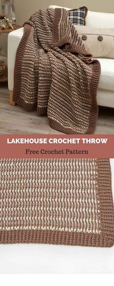 I have rounded up some of the best and interesting free crochet Blanket patterns for your home! Crochet Throw Pattern, Easy Crochet Blanket, Crochet For Beginners Blanket, Crochet Quilt, Crochet Patterns For Beginners, Afghan Crochet Patterns, Crochet Hooks, Free Crochet, Crochet Ideas