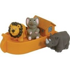 Stephan® Baby Noah's Ark Bath Squirters by Stephan Baby. $11.41. BATH SET NOAH'S ARK 4PC  Soft polyvinyl four-piece Noah's Ark Squirter Set makes for perfect fun in the tub.