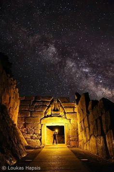 Μυκήνες. Η θρυλική μεγαλιθική πύλη των Λεόντων 2η χιλ.π.χ