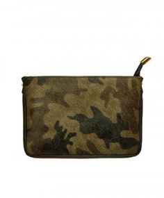 Army Clutch Leather
