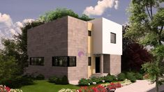 Model 125mp   Case de top Home Fashion, Home Projects, Mansions, House Styles, Modern Homes, Top, Home Decor, Houses, Architecture