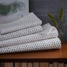 Organic Mini Bud Sheet Set | west elm