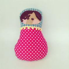 #dindadoodle matryoshka dolls  - pillow dolls