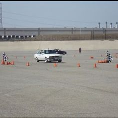 At the autocross on sunday