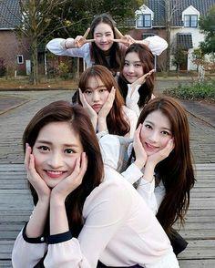 [Pristin] Kyulkyung, Rena, Roa, Sungyeon & Kyla