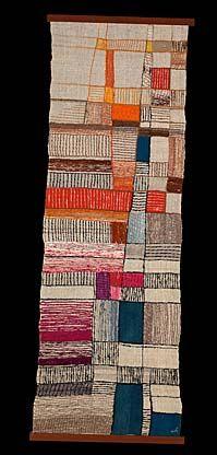 """textile """"Procession"""" by Mariska Karasz."""