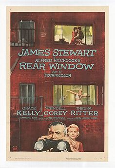 "Rear Window - Authentic Original 30.75"" x 44"" Movie Poster"