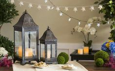@giftedliving - Ramadan and Eid Decorations. Lanterns, string lights, jewelry and scarves.