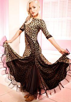 Chrisanne Tania Pandora Dress | Dancesport Fashion @ DanceShopper.com