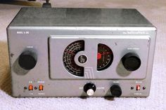 Vintage Hallicrafters Model S-38C Radio Receiver | Consumer Electronics, Radio Communication, Ham, Amateur Radio | eBay!