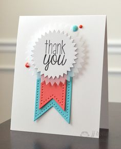JJ Bolton for Avery Elle using Dotted dies, Signature dies, and Many Thanks stamp set