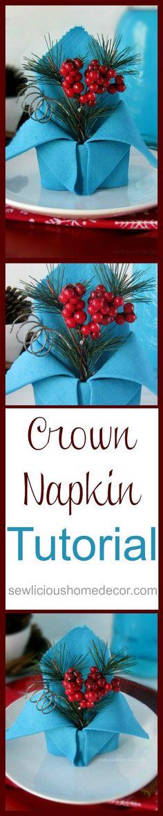Crown Napkin Tut