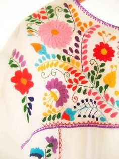 Mexican embroidery by iva
