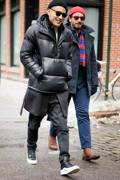 The Best Dressed Men of New York Fashion Week #layering || Streetstyle Inspiration for Men! #WORMLAND Men's Fashion
