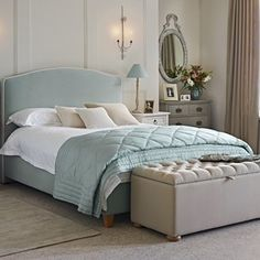 Bedroom Design Ideas Duck Egg Blue duck egg evie butterfly collection duvet cover | dunelm.. why