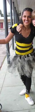 Bumble Bee Halloween Costume: This Halloween I really wanted to be a Bumble Bee. Because I'm 14, and most bumble bee Halloween costumes are for little kids, I tried finding a costume