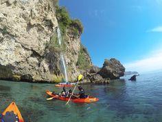 Kayak des mers à Maro, Nerja, Malaga - Costa del Sol (Espagne)