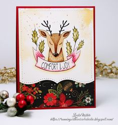 Running With Scissors...: Oh Deer, Christmas is Near!