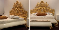 Jetclass | Barroc Queen Bed Crown Luxury Home Interiors
