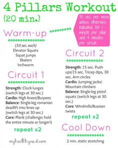 4 Pillars Workout