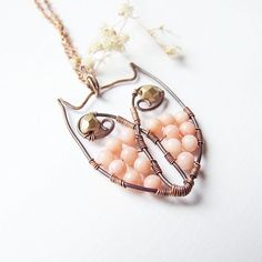 owl wire n beads
