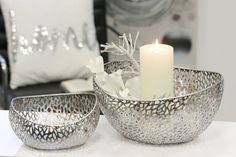 Misa Purley, hlboká 24 cm Candle Holders, Candles, Porta Velas, Candy, Candle Sticks, Candlesticks, Candle, Candle Stand