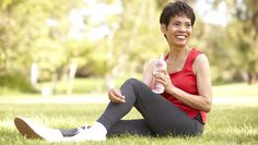 Osteoporosis causes bones to become brittle, which means that there is a greatly increased risk of broken bones, especially hips. Exercises for osteoporosis can help you reduce your risk factors for developing this condition. Knee Pain Exercises, Stretches, Lumbar Spinal Stenosis, Knee Pain Relief, Self Image, Hip Workout, Aging Process, Aging Gracefully