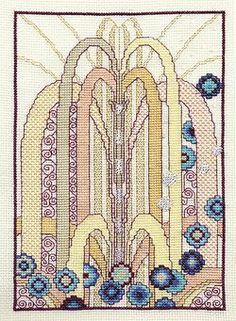 New Art Deco - Cascade Cross Stitch