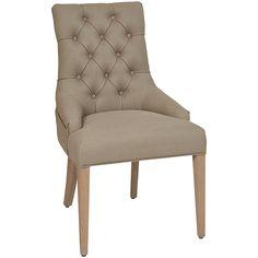 Buy Neptune Henley Upholstered Linen Dining Chair, Millet Online at johnlewis.com