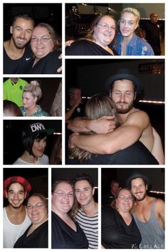 A few from @DWTSLiveTour in Charleston, WV. AMAZING NIGHT!! @iamValC @SashaFarber @artemchigvintse @PetaMurgatroyd