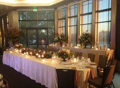 Reception at Stockton Golf & Country Club. Decor by Alexandra's Home & Garden