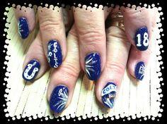 #Colts #nails #hairandnailsbypiper