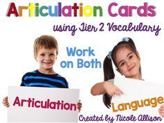 Articulation Context Clue C... by Nicole Allison | Teachers Pay Teachers