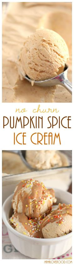 Pumpkin Spice Ice Cr