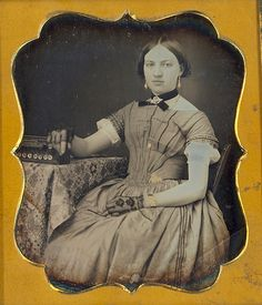 Beauty with concertina.   1/6 plate daguerreotype of a beaut…   Flickr - Photo Sharing!
