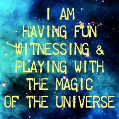 Magic of the Universe