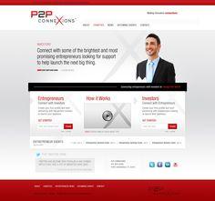 P2P Website  ||  Streng Design & Advertising #ResponsiveDesign #WebDesign #WebDevelopment #UIdesign #InterfaceDesign #umbraco