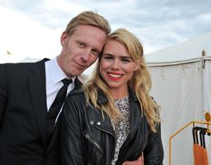 Billie Piper and Laurence Fox in 2012.