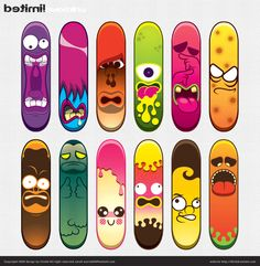 beautiful skateboard deck design - Skateboard Design Ideas