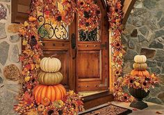 Endearing Orange Marigold For A Joyful Homecoming Door Idea
