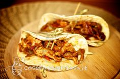 Cucina messicana: taco con carne on http://cosefatteincasa.it