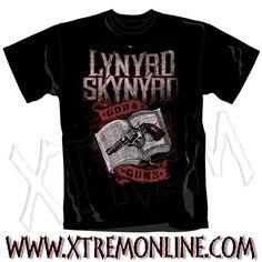 Echa un vistazo a nuestro merchadising de Lynyrd Skynyrd y más grupos heavy metal. Camisetas, sudaderas... Productos en stock. Envíos inmediatos.
