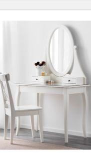 Schminktisch von Ikea mit passendem Stuhl in Berlin - Tempelhof | eBay Kleinanzeigen