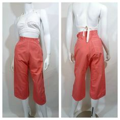 Vintage 1950s Wide Leg Pedal Pushers in sweet by Dirty30Vintage, $36.00