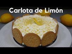 Madre mía que pinta más buena! una receta de Carlota de Limón fácil y sin horno, Si te gusta dinos HOLA y dale a Me Gusta MIREN … | Receitas Soberanas