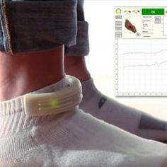 Tecnología para vestir hasta en las medias - http://www.entuespacio.com/tecnologia-para-vestir-hasta-en-las-medias/