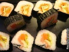 Sushi, Ethnic Recipes, Food, Meals, Yemek, Eten