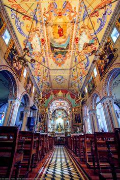 Beautiful Church in Madeira, Portugal