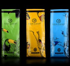 Dorigenn Coffee Packaging.